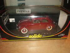 Solido   1/18  #8016 Coccinelle Berline VW Käfer  VW Beetle       MIB