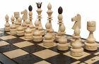 échec Grand Noble Jeu d'échecs Indian échiquier 54 x 54 cm bois travail manuel