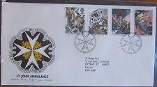 Great Britain Stamps First Day Cover FDC St John Ambulance