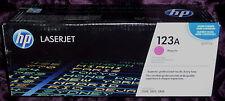 HP Q3973A 123A MAGENTA TONER CARTRIDGE HP LJ 2550 2820 2840 GENUINE NEW SEALED
