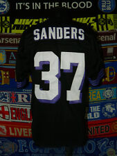 4.5/5 Baltimore Ravens adults L 50 #37 Sanders NFL football shirt jersey