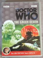 Vgc Dr Who - The Green Death Dvd Jon Pertwee