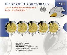 2 Euro commémorative d'Allemagne 2013 Belle Epreuve (BE) - Bade-Wurtemberg