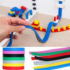 Silikon Tape Strip Block Bendable Flexible Corner Ecken Lernspielzeug Bausteine