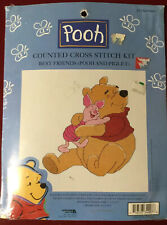 """Winnie the Pooh And Piglet counted cross stitch """"Best Friends"""" 34007"""