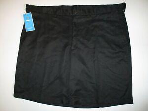 Haggar Cool 18 Plain Front Shorts Men's sz 44 Black Moisture Wicking