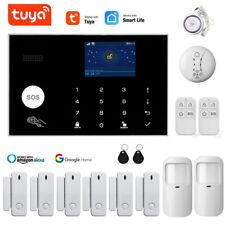 Funk WIFI Alarmsystem TUYA APP GSM Haus Alarmanlage Bewegungsmelder Sicherheit