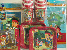 JAKE & THE NEVER LAND PIRATES Disney  Birthday Party Supply Kit w/ Treat Bags