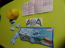 2009 Kinder Ü-Ei Schleuder-Spiel Frisbee Flugscheibe BPZ DE061 Ferrero Spielzeug