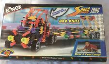 K'Nex Speed Zone Jack Knife Big Rig 12024 Building Set 3 Models 2' Long!