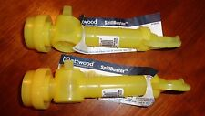 2 Genuine Attwood Spillbuster Boat No Spill Fill Spouts Fits 1 Qt 1 Gal Oil 5 Qt