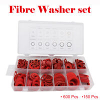 Fibre Washer Set 600/150pcs Assorted Fibre Seals various sizes Sealing Washers