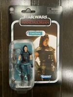 Star Wars The Mandalorian Cara Dune Vintage 3.75 Collection Action Figure - NEW