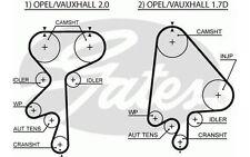 GATES Kit de distribución OPEL ASTRA VECTRA CALIBRA VAUXHALL CAVALIER K015205