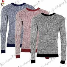 Unbranded Acrylic Crew Neck Jumpers & Cardigans for Men