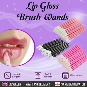 Disposable Lip Brush Gloss Wands Applicator Lipstick Makeup Tool Cosmetic