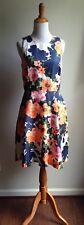 Donna Morgan Anthropologie Nordstrom Floral Dress Size 4