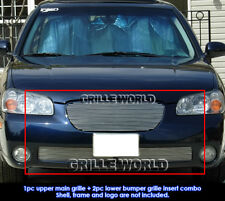 For 2002-2003 Nissan Maxima SE/GXE Billet Grill Grille Combo Insert