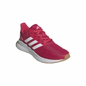 Adidas Running Kids Girls Runfalcon Casual Lace Up Sports Shoes Trainers