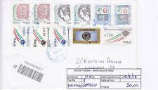 STORIA POSTALE - REPUBBLICA MULTIPLI - PIIM0146 - 8 GEMELLI !!!! - 20.00€