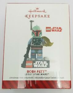 LEGO Star Wars Boba Fett - Hallmark Keepsake Christmas Tree Ornament 2014 - NEW