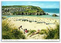 Postcard The Beach Perranporth Cornwall