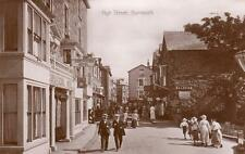 High Street Barmouth Cors-Y-Cedol Hotel Pub unused RP old pc Valentines XL Good
