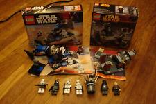Lego STAR WARS 7667 Imperial Dropship & 7251 Darth Vader Transformation UsedComp
