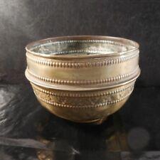 Cache-pot cuivre laiton fait main Orient Afrique Maghreb déco PN France N2966