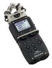 ZOOM H5 HANDY RECORDER 6 TRACK MICROPHONE 32GB & XYH-5 MIC MODULE H2N H4N PRO H6