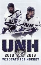Unh Willdcats Ice Hockey 2018/19 Fold out schedule Univesrsity of New Hampshire
