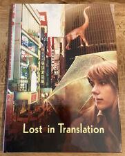 Lost In Translation (Blu Ray) Mediabook Limited Ed 444 Region Free Bill Murray