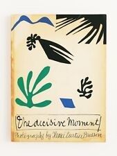 New listing Henri Cartier Bresson Decisive Moment 1st Edition Photography Book 1952