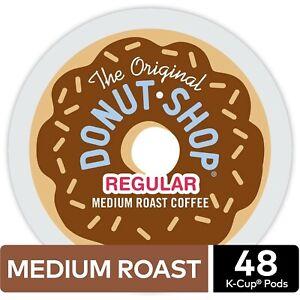 The Original Donut Shop Medium Roast Single-Serve K-Cup®, 0.39 Oz, Carton Of 48