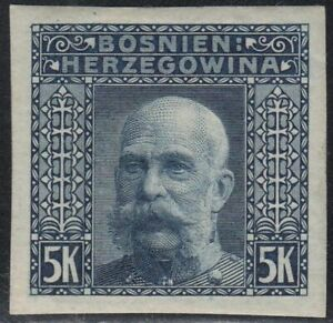 Bosnien Herzegowina 1906 Nr. 44 U * ungezähnt