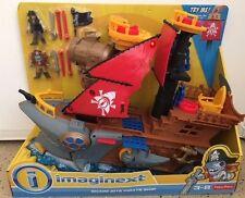 FisherPrice Imaginext Shark Bite Pirate Ship Playset back to school