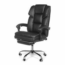 Sedia poltrona da ufficio presidenziale in ecopelle ergonomica girevole studio