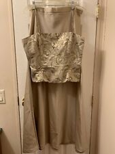 Gold And Sequined Formal Wear