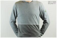 Lyle & Scott - Fabric Mix Sweatshirt - Mid Grey Marl