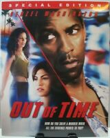 Out of Time Blu-ray w/Slipcover (2018 - MVD) ~ Denzel Washington, Eva Mendes