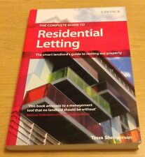THE COMPLETE GUIDE TO RESIDENTIAL LETTING Tessa Shepperson Book (Paperback)