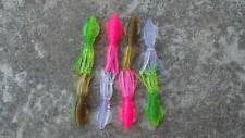 30pcs 7.5cm soft lure ,octopus lure,fishing skirt.random colour mixed  ,