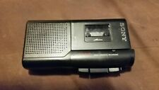 More details for retro tech sony micro cassette recorder voice operated recorder dictation