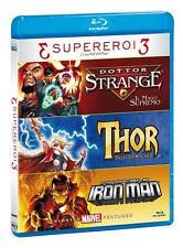 3 Supereroi - Limited Edition Marvel Animated 3 Blu Ray  -  Raro Fuori Catalogo