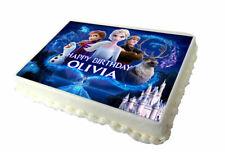 Frozen 2 Birthday Cake Topper