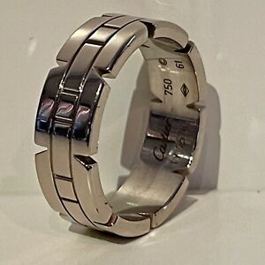Cartier Tank Francaise Ring - 18K white gold - 7mm band - size 61 EU, 9.5 US