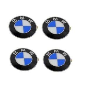 Emblem Wheel Center Cap 64.5 mm Diameter 36136767550 Genuine For BMW E46 E60 E92