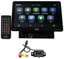 "SSL SD10.1B 1-Din 10.1"" Touchscreen Multimedia DVD Car Stereo Receiver+Camera"