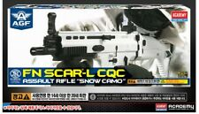 New Academy FN SCAR-L CQC Airsoft Gun Rifle #17112 Snow Camo Model Kit Scale Fn