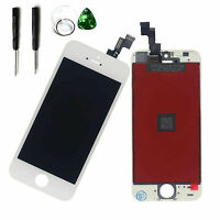 White LCD Display Touch Screen Digitizer Assembly Replacement For iPhone 5S 4""